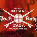 09.07.2016 – Die Mega BEACH PARTY